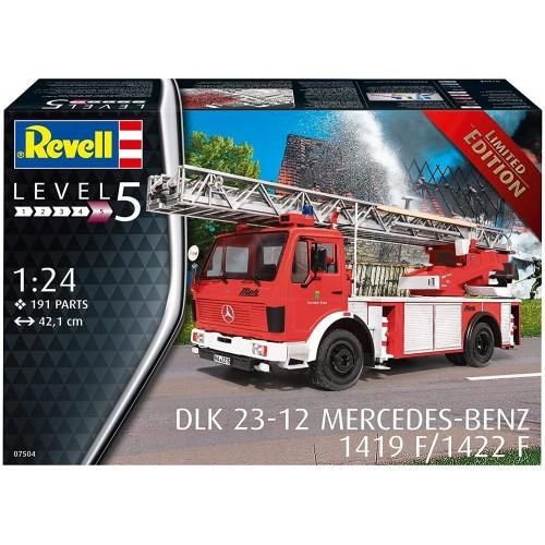 CAMION DE BOMBEROS DKL-23 MERCEDES-BENZ 1419/1422 L -Escala 1/24- Revell 07504