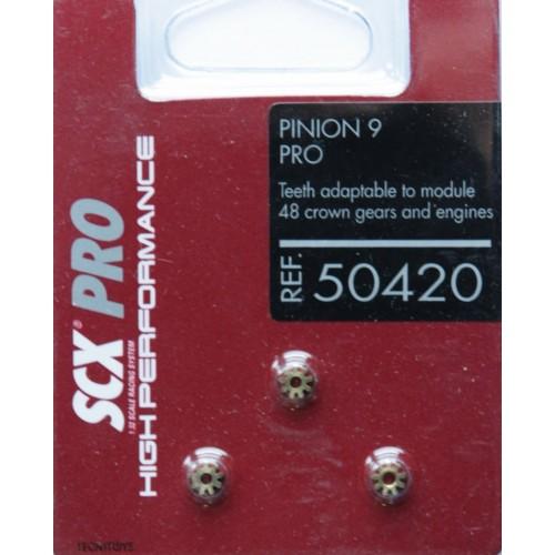 PIÑONES PRO 9T (3 UNIDS) SCALEXTRIC 50420