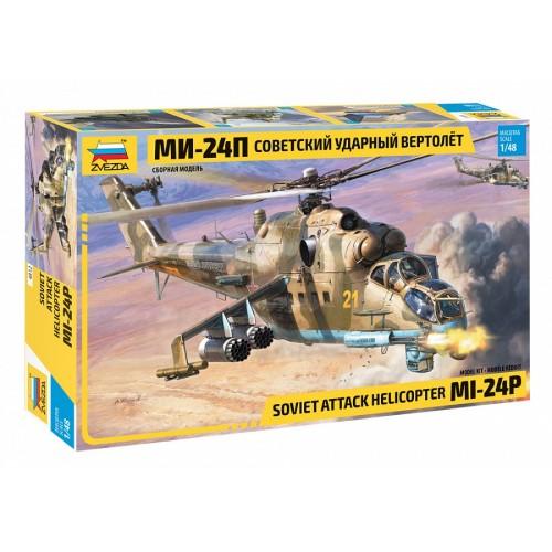 MIL MI-24 P HIND -Escala 1/48- ZVEZDA 4812