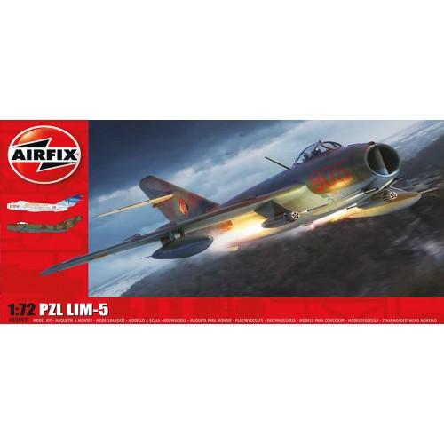 PZL LIM-5 (Mig-17) -Escala 1/72- Airfix A03092