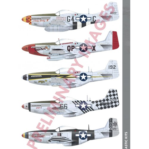 NORTH AMERICAN P-51 K MUSTANG -Escala 1/48- Eduard 82105