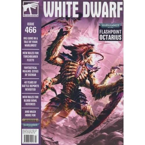 REVISTA WHITE DWARF Nº 466 - Games Worshop 466 (EN INGLES)