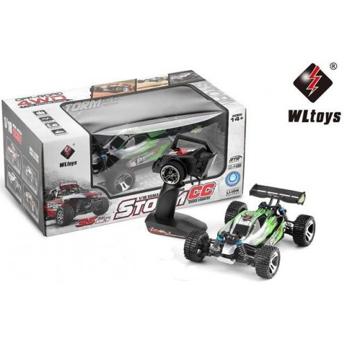 COCHE BUGGY STORM 1/18 ELECTRICO WL959