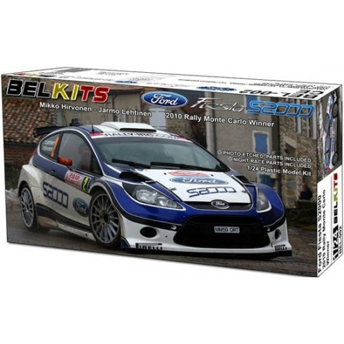 FORD FIESTA S200 (Ganador Rally MonteCarlo 2010) -Escala 1/24- BELKITS 002