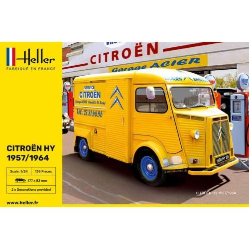 """CITROEN HY 57/64  """"Service Citroen"""" -Escala 1/24- Heller 80744"""