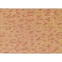 CARTULINA LADRILLO N (250 x 125 mm) - Faller 170608