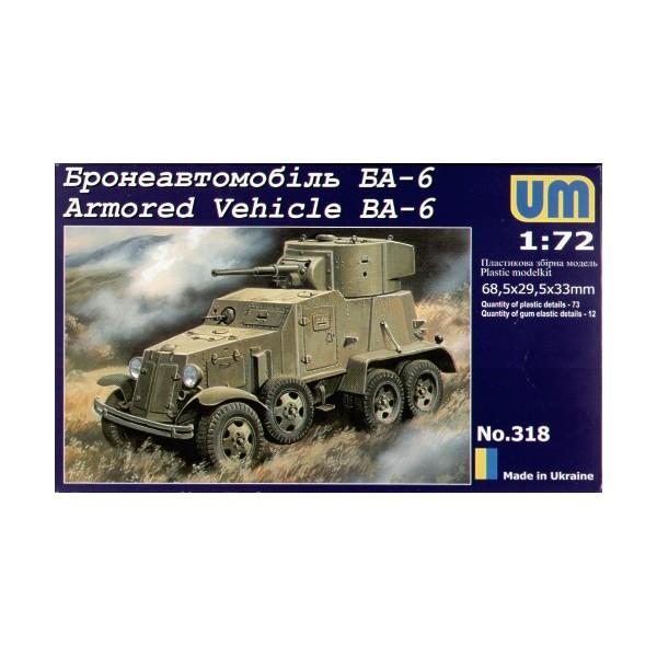 CAMION BLINDADO BA-6 1/72 - UM Models 318