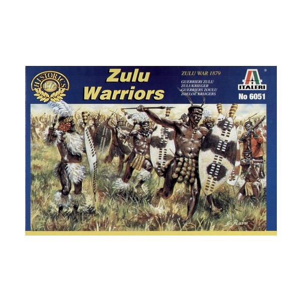 GUERROS ZULUES (Guerra Zulu 1.879) escal 1/72
