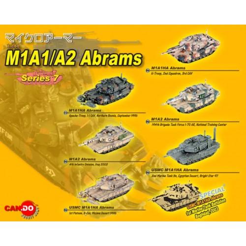CARRO M1 A1/A2 ABRAMS 1/144