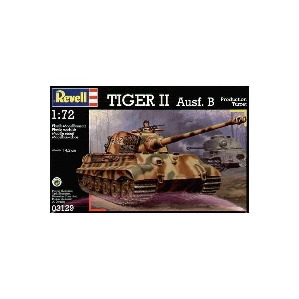 CARRO DE COMBATE Sd.Kfz. 182 TIGER II AUSF B -1/72- Revell 03129