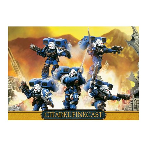 SPACE MARINES SKYHAMMER SQUAD - GAMES WORKSHOP 48-43