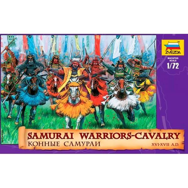 CABALLERIA SAMURAI (Siglo XVI - XVII) -Escala 1/72- Zvezda 8025