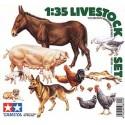 ANIMALES VARIADOS - ESCALA 1/35 - TAMIYA 35128
