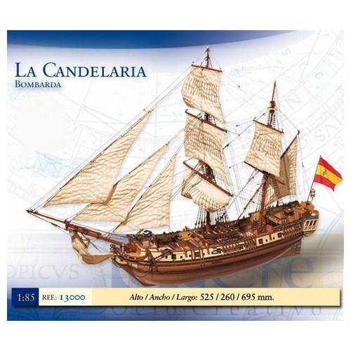 BOMBARDA LA CANDELARIA -ESCALA 1/85- OCCRE 13000
