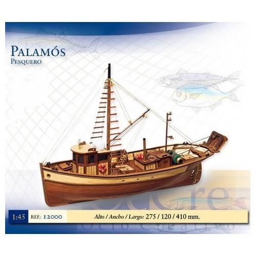 PESQUERO PALAMOS - escala 1/45 - OCCRE 12000