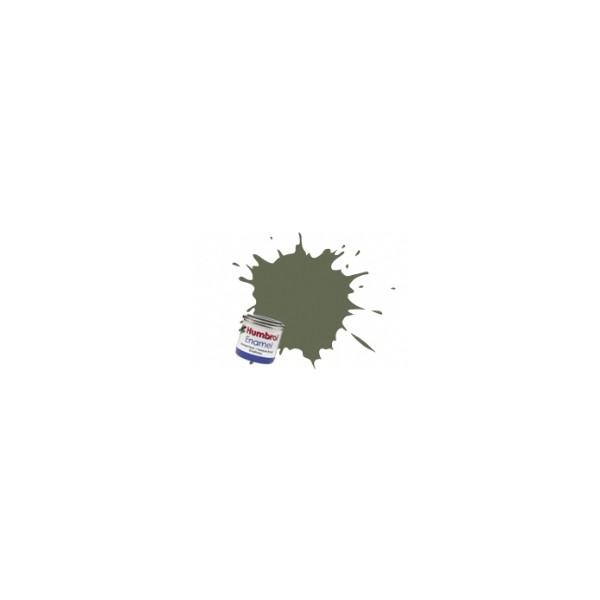 PINTURA ESMALTE VERDE OLIVA CLARO MATE (14 ml) - Humbrol 86 / AA0953