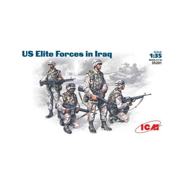 INFANTIERIA U.S. ARMY, IRAK -Escala 1/35- ICM 35201