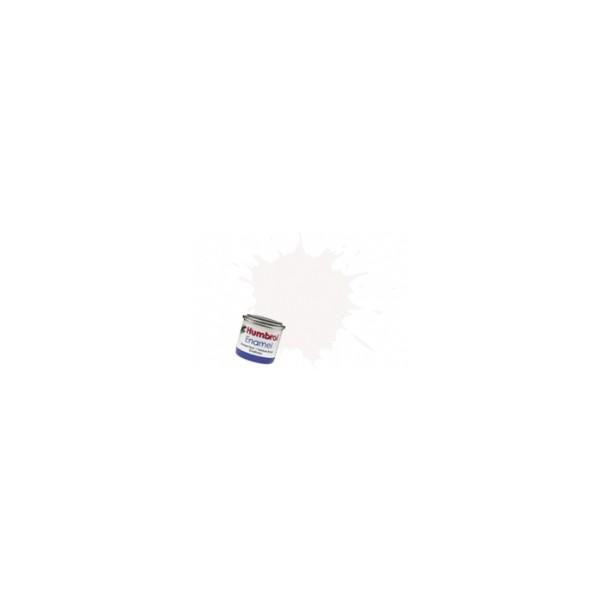 PINTURA ESMALTE BLANCO BRILLANTE (14 ml) - Humbrol 22 / AA0240