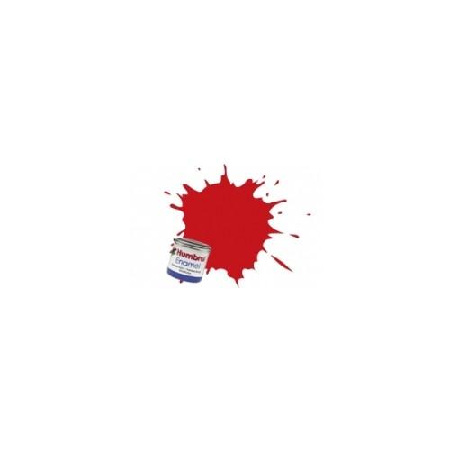 PINTURA ESMALTE ROJO FERRARI BRILLANTE (14 ml) - Humbrol 220 / AA6608