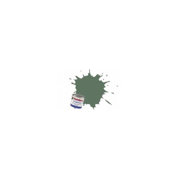 PINTURA ESMALTE VERDE MARINA MATE (14 ml) - Humbrol 105 / AA1167