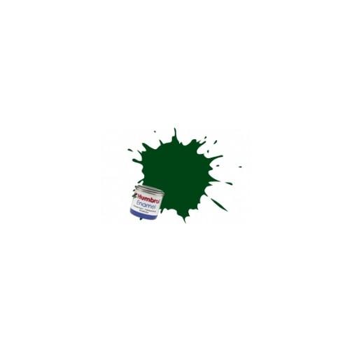 PINTURA ESMALTE VERDE OSCURO SATINADO (14 ml)