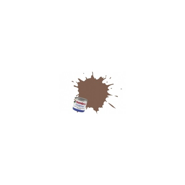 PINTURA ESMALTE MARRON MATE (14 ml)