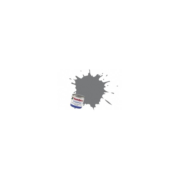 PINTURA ESMALTE GRIS OSCURO CAMUFLAJE SATINADO (14 ml)