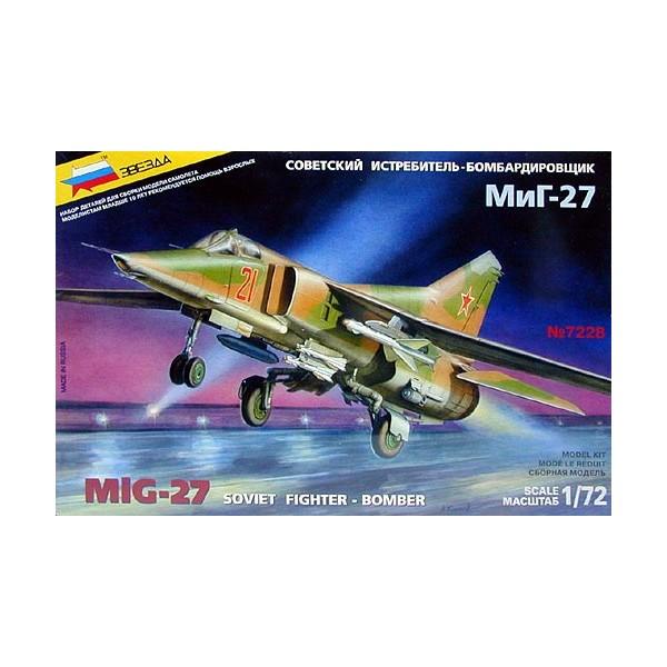 MIKOYAN GURVERICH MIG-27 FLOGGER D -Escala 1/72- Zvezda