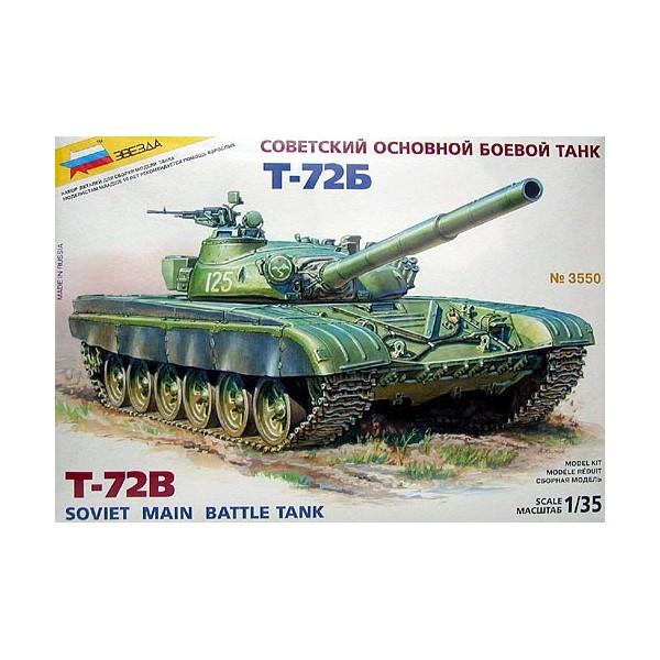 CARRO COMBATE T-72 B -Escala 1/35- Zvezda 3550