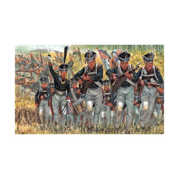 INFANTERIA RUSA 1805-1815 -1/72- (50 piezas) - Italeri 6073