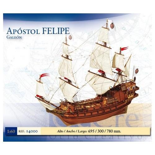 GALEON APOSTOL FELIPE -1/60- OCCRE 14000