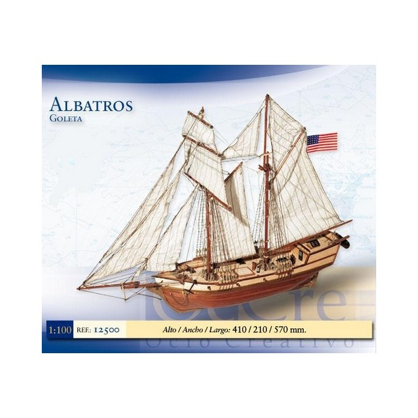 GOLETA ALBATROS - ESCALA 1/100- Occre 12500