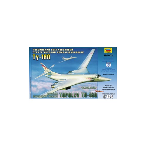 TUPOLEV TU-160 BLACKJACK - escala 1/144