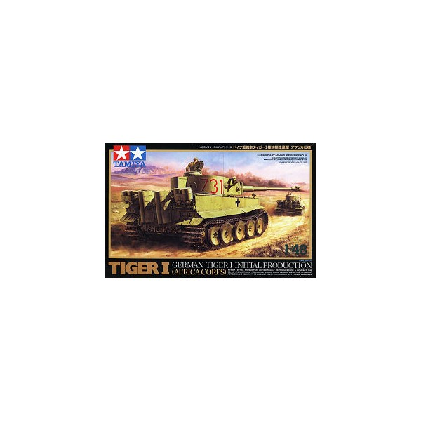 CARRO DE COMBATE SD.KFZ.181 TIGER I Early -Tamiya 1/48- Tamiya 32529