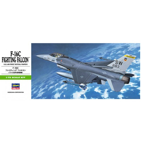 GENERAL DYNAMICS F-16C FIGHTING FALCON escala 1/72 hasegawa b2