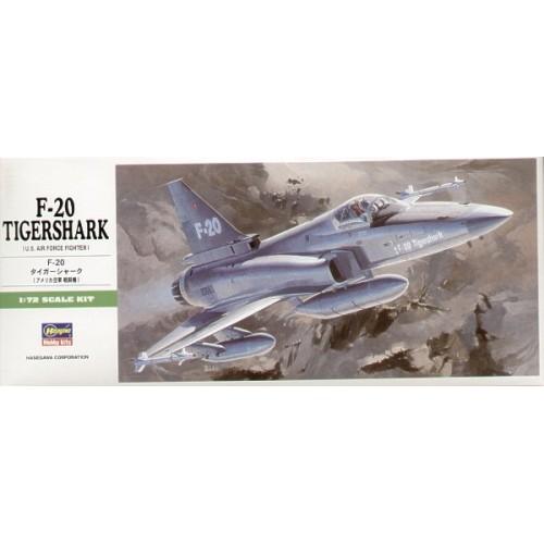 NORTHROP F-20 TIGERSHARK -1/72- Hasegawa B3