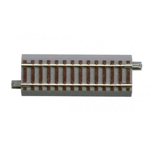 VIA GL RECTA (L: 100,00 mm) -Escala H0 - 1/87- Roco GeoLine 61113