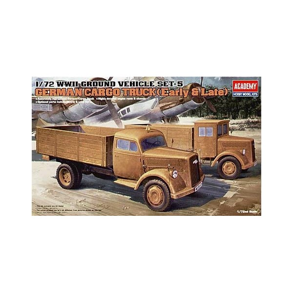 CAMION OPEL BLITZ (Cabina madera / metal) -Escala 1/72- Academy 13404
