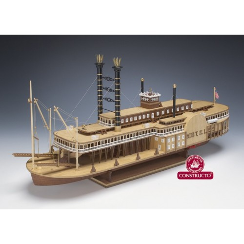 BARCO ROBERT E. LEE - ESCALA 1/140 - (long.64 cms) KIT MADERA