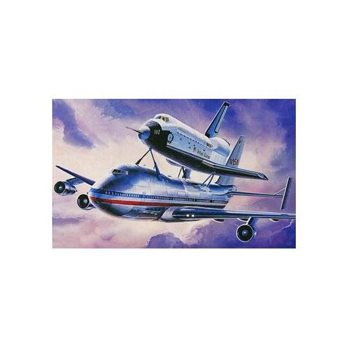 BOEING 747 & TRANSBORDADOR ESPACIAL -Escala 1/288- Academy 12708