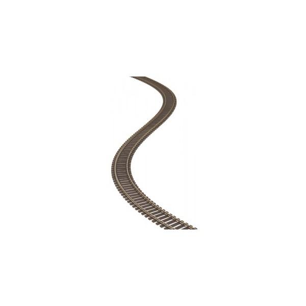 VIA FLEXIBLE 914 mm (Traviesa marron) ESCALA N - PECO SL300