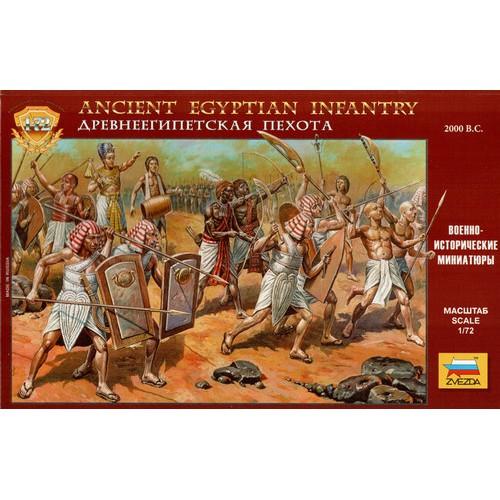 INFANTERIA EGIPCIA (2000 A.C.) -Escala 1/72- Zvezda 8051