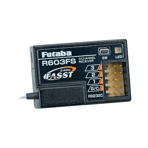 RECEPTOR R603FS (3CH) 2,4 GHz