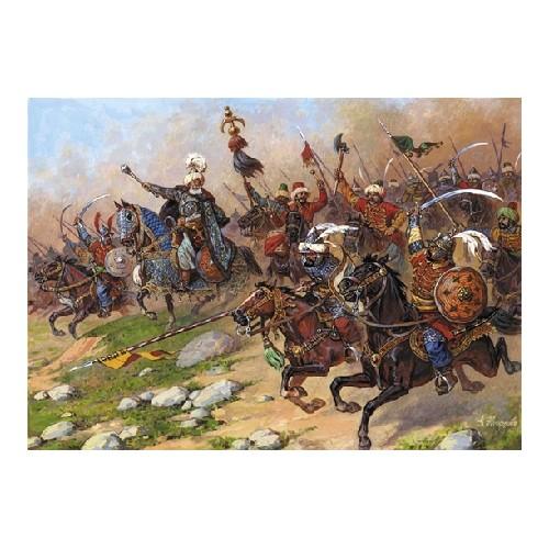 CABALLERIA TURCA (Siglo XVII) -Escala 1/72- Zvezda 8054