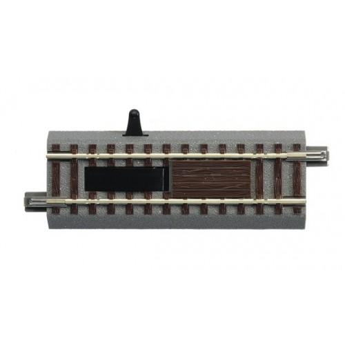 VIA GL DESENGANCHADORA ELECTRICA (L: 100,00 mm) -Escala H0 - 1/87- Roco GeoLine 61118