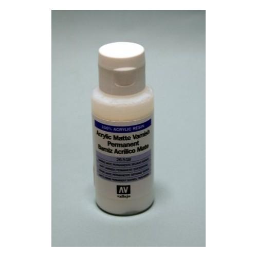 BARNIZ ACRILICO PERMANENTE MATE (60 ml) - Acrylicos Vallejo 26518
