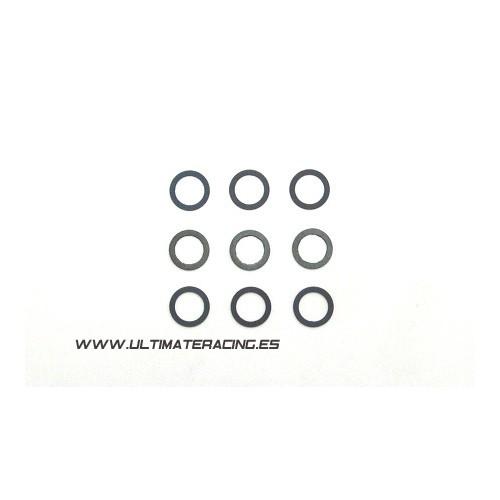 ARANDELAS AJUSTE VOLANTE INERCIA (7x10x0,5 mm) 5 unidades