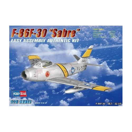 NORTH AMERICAN F-86 F-30 SABRE - 1/72- Hobby Boss 80258