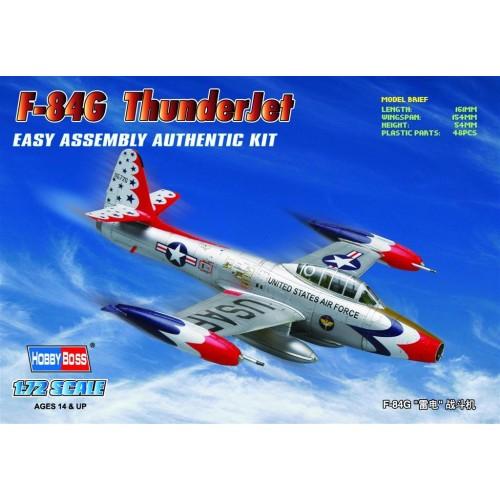 REPUBLIC F-84 G THUNDERJET ESCALA 1/72 HOBBYBOSS 80247