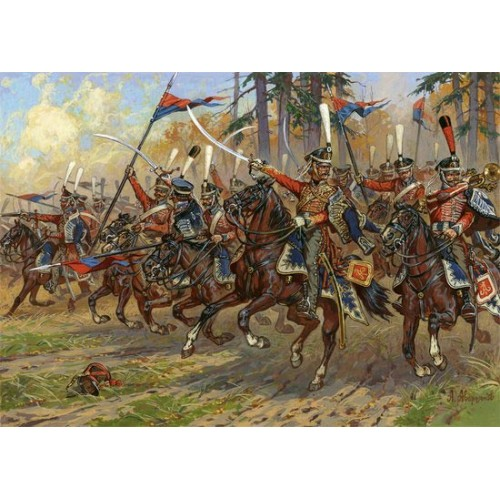 HUSARES RUSOS (1812-1814) -Escala 1/72- Zvezda 8055